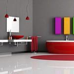 Colorear un baño gris