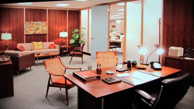 Como donald draper entre muebles con estilo universo for Despacho moderno casa