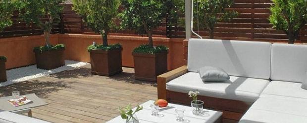 Una terraza interior universo muebles for Muebles terraza online