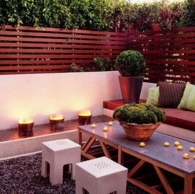Una terraza interior universo muebles - Terrazas chill out decoracion ...