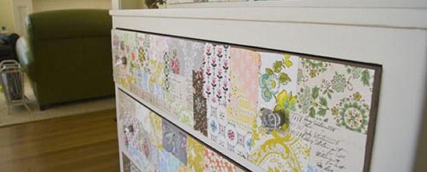 Decorar los muebles con papel de pared universo muebles - Papel de arroz para decorar muebles ...