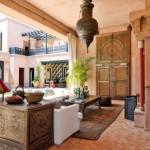 Las mil y una noches en una casa de estilo arabe