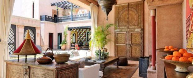 las mil y una noches en una casa de estilo arabe On muebles estilo arabe