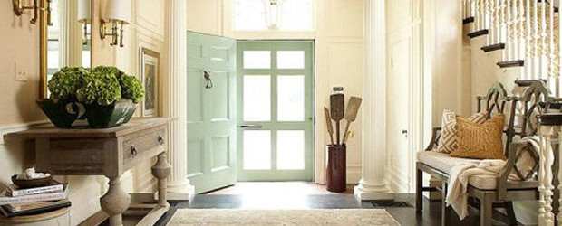 Ideas para la decoraci n de los recibidores universo muebles - Ideas para recibidores ...