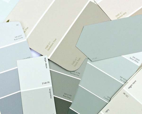 3 pasos para elegir el color de las paredes universo muebles - Pasos para pintar una pared ...