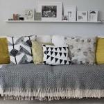 Como combinar textiles en el hogar