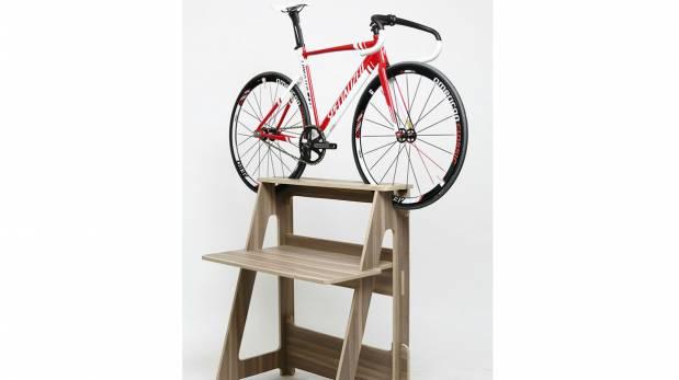 mueble vertical para bici