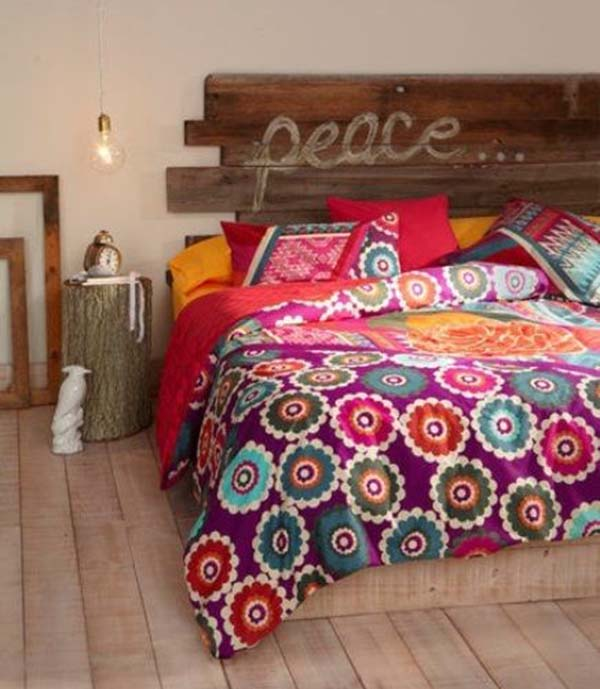 Domitorios Boho chic via Decorative Bedroom_ FOTO12