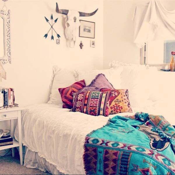 Dormitorios Boho Chic via Alexa Worth _ FOTO1