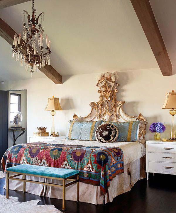 Dormitorios Boho Chic_ Via decorative Bedroom_ FOTO11