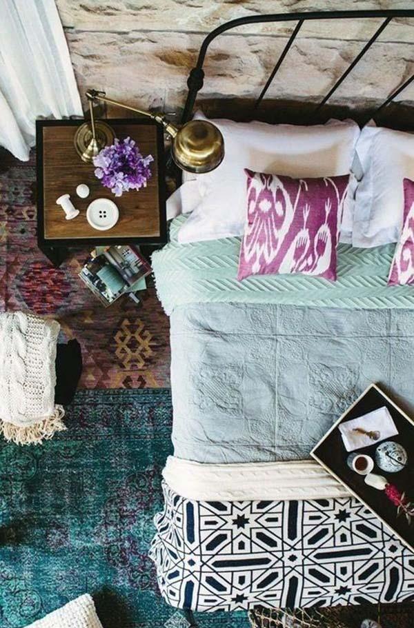 Dormitorios Boho Chic_ via Apartment Therapy_ FOTO 3