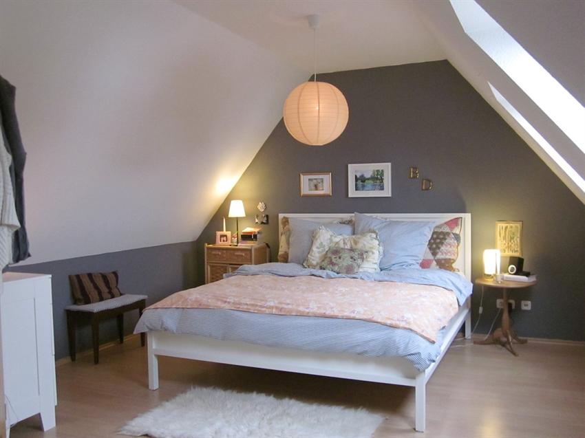 dormitorio en atico