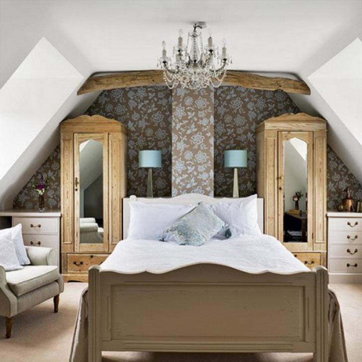 dormitorio matrimonial en atico