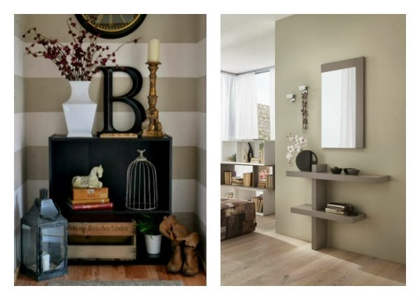 C mo sacarle partido al recibidor universo muebles - Idee per dipingere casa ...