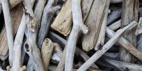 madera del mar para decorar